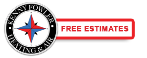 Free estimates from Kenny Fowler Heating and Air