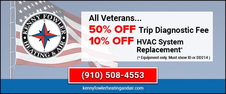 Veterans HVAC Discounts