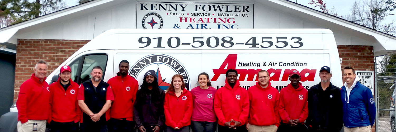 Kenny Fowler Heating Air Team